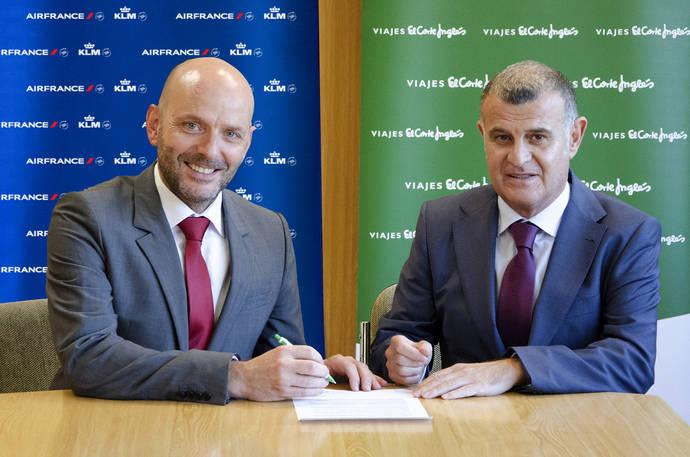 Alianza de Viajes El Corte Inglés con Air France KLM