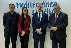 Representantes del ICTE y de Turisme Comunitat Valenciana.