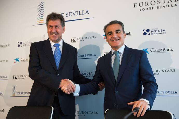 El Grupo Hotusa acuerda con CaixaBank ampliar el Eurostars Torre Sevilla