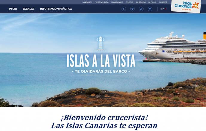 'Islas a la vista', la nueva web turística de las Islas Canarias
