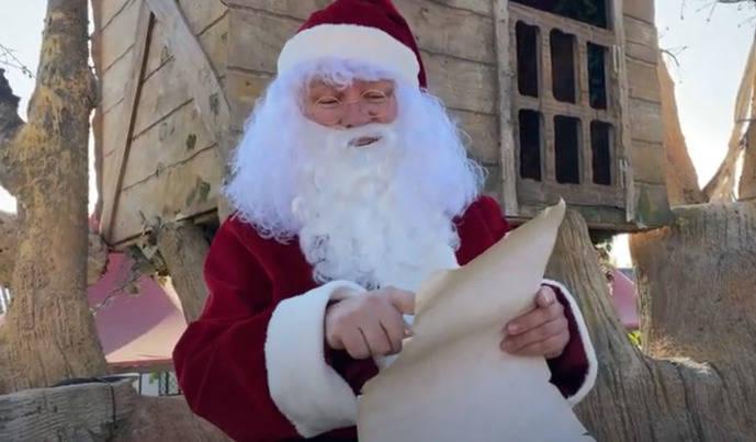 Papá Noel llega a Magic con una felicitación especial
