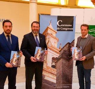 Carmona presenta espacios disponibles para celebrar eventos en la ciudad