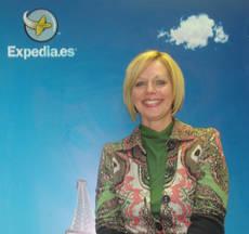 La directora de mercado de Expedia para España y Portugal, Carrie Davidson.