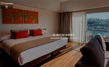 Hotel Carrís Porto Ribeira presenta su nueva página 'web'