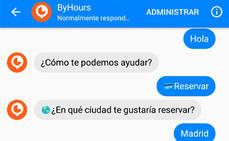 Byhours activa el 'chatbot' para cuentas de Facebook