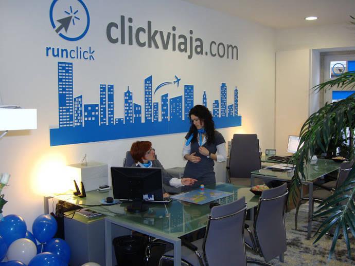 Cybas incorpora a las 120 oficinas de Click Viaja