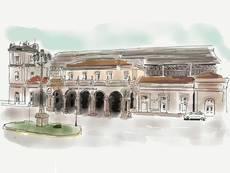 La nueva sucursal de Sixt estará en frente de la estación de tren de Santiago de Compostela.