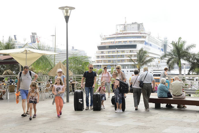 Las Palmas renueva su imagen como ciudad de cruceros