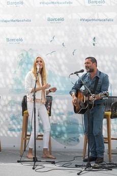 El dúo Anglada Cerezuela.