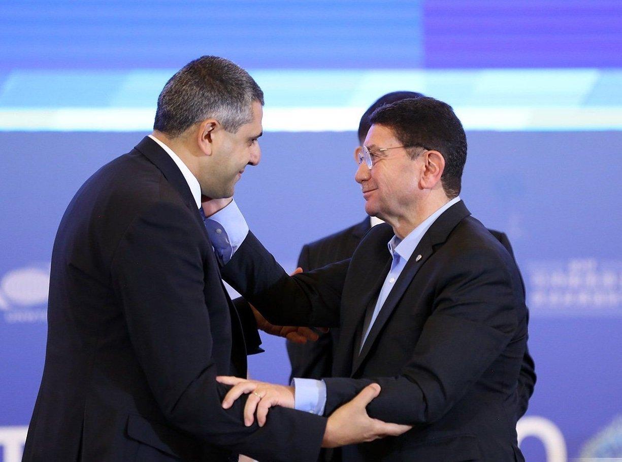 La asamblea general de la OMT ratifica a Zurab Pololikashvili