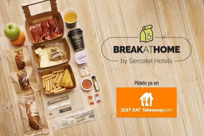 Sercotel Hotel Goup y Just Eat lanzan 'BreakAtHome'