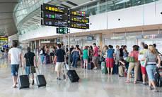 Los pagos por Turismo ascienden a 11.628 millones en los ocho primeros meses.