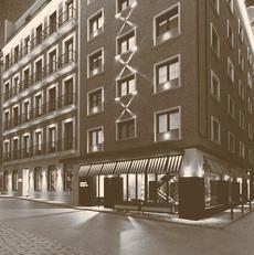El edificio adquirido por Mazabi.