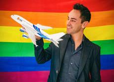 El fundador de Rainbow Gay Tours.