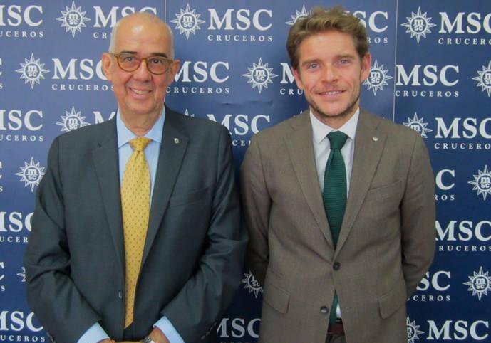 Fernando Pacheco, nuevo director de MSC Cruceros