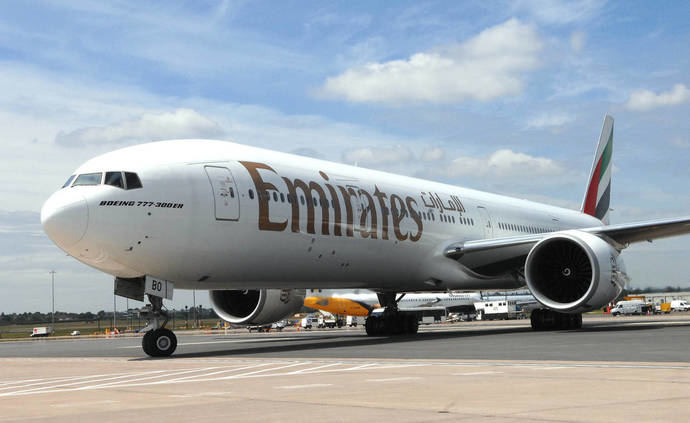 Emirates aumenta las frecuencias Madrid-Dubái