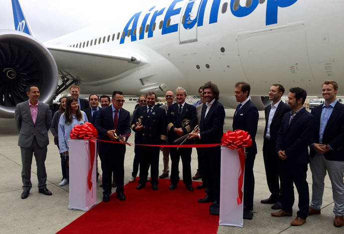 Air Europa culmina la primera fase de renovación de flota