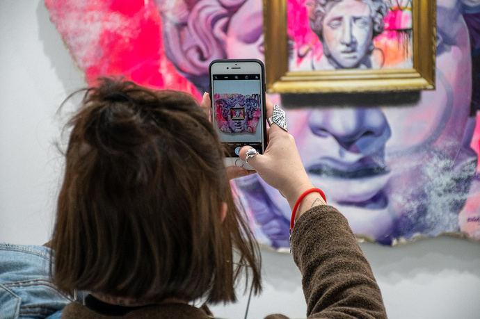 Art Madrid: 150 artistas en la Galería de Cristal de Cibeles