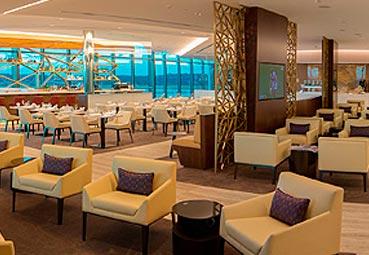 Etihad Airways lanza su línea de 'lounges'