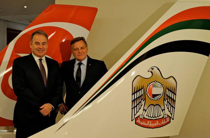 Etihad denuncia la 'presión ejercida' por el grupo Lufthansa