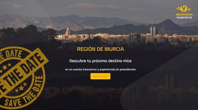 Evento virtual del potencial MICE en Murcia