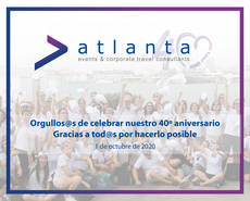 Atlanta Events & Corporate Travel: 40 aniversario