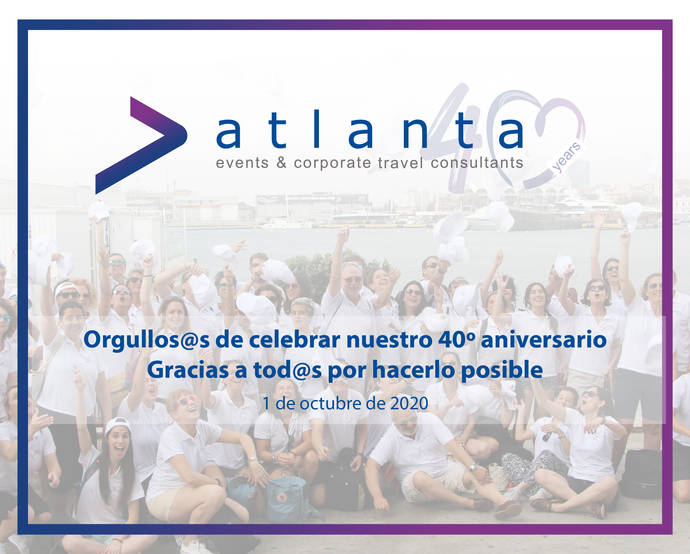 Atlanta Events & Corporate Travel: 40 aniversario