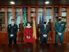 La Guardia Civil y la Subdelegación del Gobierno, con el Palacio de Congresos de Córdoba