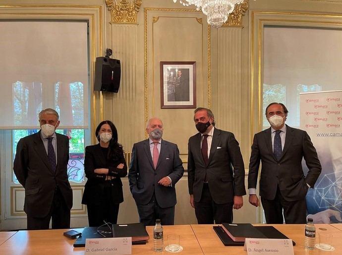 AEHM y la Cámara de Comercio de Madrid firman un convenio