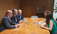 La AEPT se reúne con la secretaria de Estado de Turismo