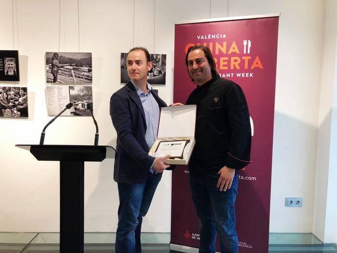 Vincci Mercat recibe el premio al Mejor Menú Cardiosaludable