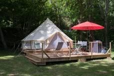 Camping en Francia.