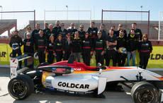 Goldcar es patrocinador del equipo de automovilismo Campos Racing.