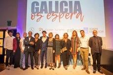 Proyectaron vídeos donde explicaron por qué elegir Galicia para realizar eventos.