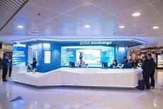 Una oficina de Global Exchange.