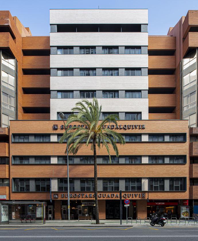 Finalizan las obras del hotel Eurostars Guadalquivir