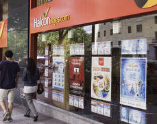La red de Halcón y Ecuador ya atiende a clientes en oficinas
