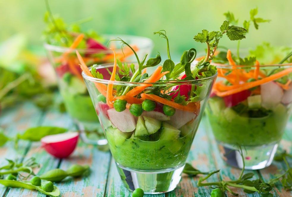 Healthia aconseja ofrecer comida saludable