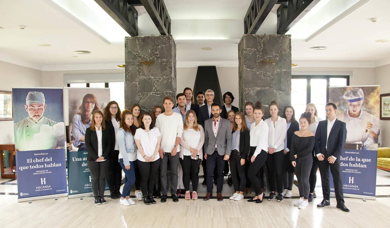 Estudiantes alemanes aprenden español aplicado a la hostelería
