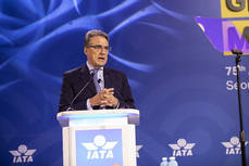 El director general y CEO de IATA, Alexandre de Juniac.