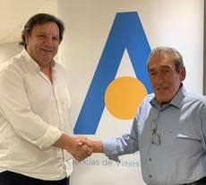 Xisco Mulet y Pedro Iriondo.