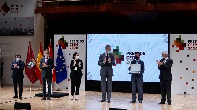 Ifema recibe el Premio Especial CEIM por 40 años al servicio del desarrollo empresarial de la mano de Felipe VI