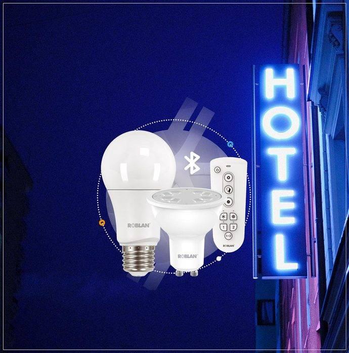 Roblan trae a los hoteles el sistema de iluminación remoto