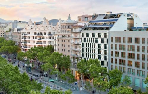 Planes para locales en el Royal Passeig de Gràcia