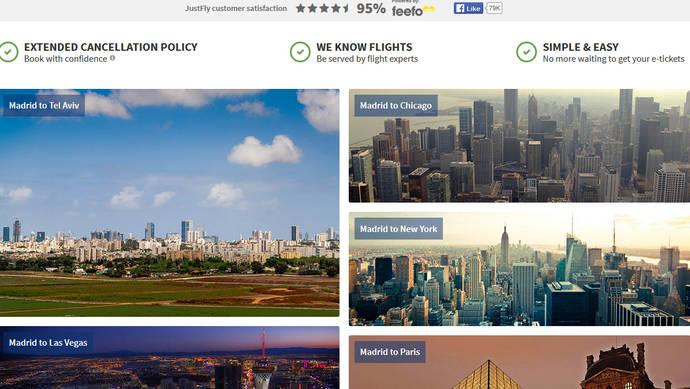 CarTrawler colabora con la agencia 'online' Justfly