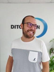 El director comercial de DIT Gestión, Lander Arriaga.