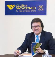 El director general comercial de Club de Vacaciones, Luis Mata.