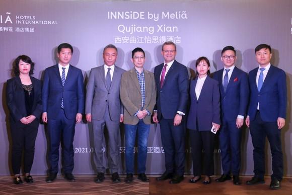 Meliá firma un nuevo hotel en Xian, expandiendo su presencia en China