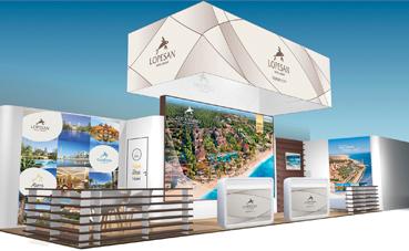 Lopesan promociona sus nuevas marcas en la feria ITB