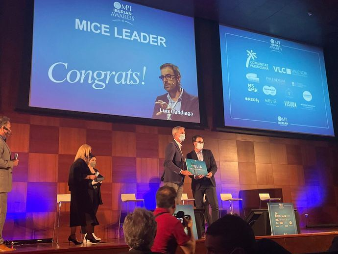 Luis Gandiaga, 'MICE Leader' en los MPI Iberian Awards
